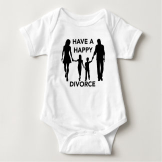 divorce baby bodysuit
