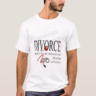 Divorce Ball and Chain T-Shirt