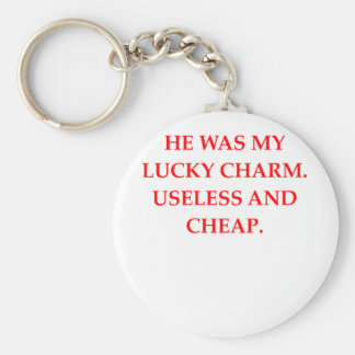 DIVORCE BASIC ROUND BUTTON KEYCHAIN