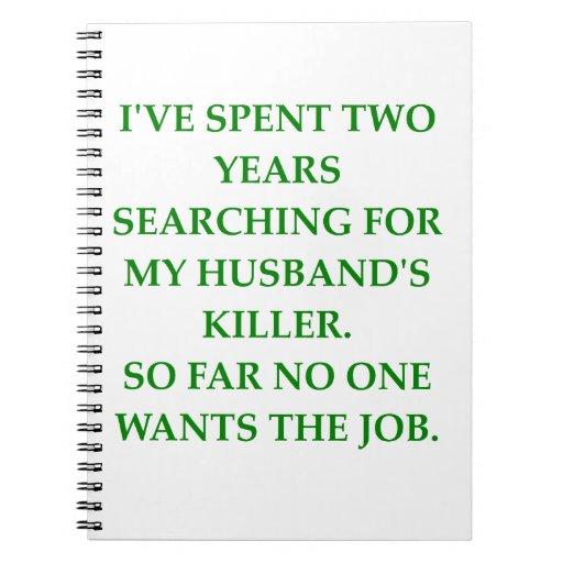 divorce carnet à spirale