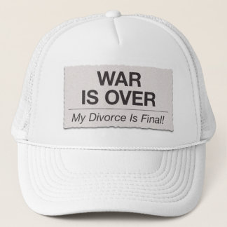 Divorce is Final Trucker Hat