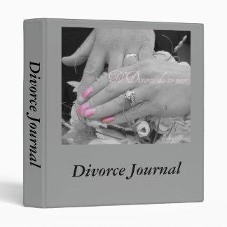 Divorce Journal Binder