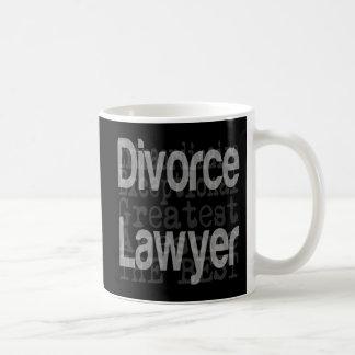Divorce Lawyer Extraordinaire Coffee Mug