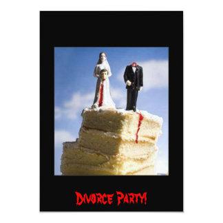 Divorce Party Card