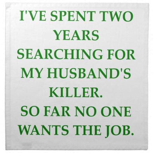 divorce serviette