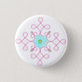 diwali blessings 1 inch round button