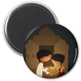 Diwali Diya Magnet