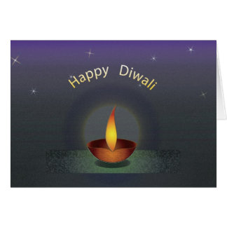 Diwali Three Text redu Card