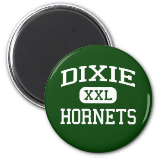 Dixie - Hornets - High - Due West South Carolina Magnets