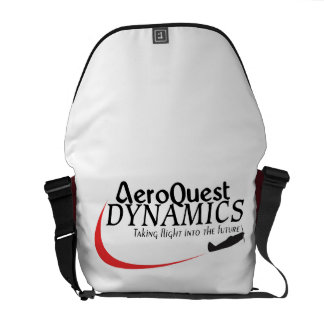 Dixie Stenberg AeroQuest Dynamics messenger bag