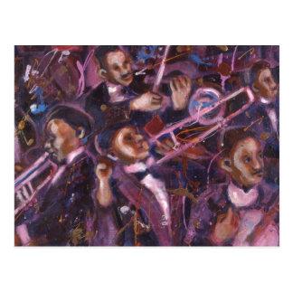 Dixieland Jazz Postcard