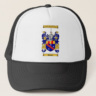 DIXON FAMILY CREST -  DIXON COAT OF ARMS TRUCKER HAT