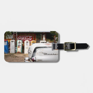 Dixon, New Mexico, United States. Vintage car Luggage Tag