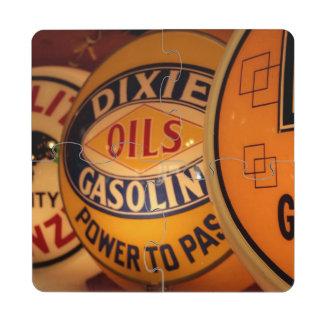Dixon, New Mexico, United States. Vintage Drink Coaster Puzzle