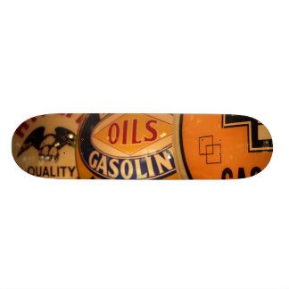 Dixon, Nouveau Mexique, Etats-Unis. Cru Skateboards Customisés