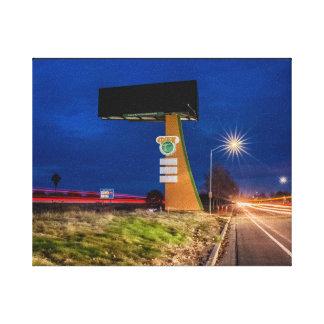 Dixon Sign at Night