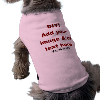 DIY Add Your Own Text and Image Custom V43 Shirt