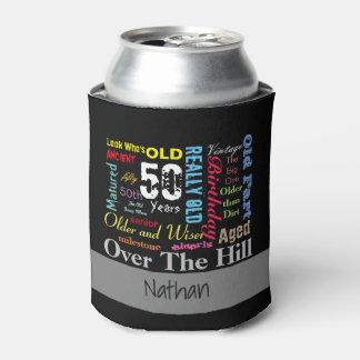DIY Age | 50th Happy Birthday | Milestone Can Cooler