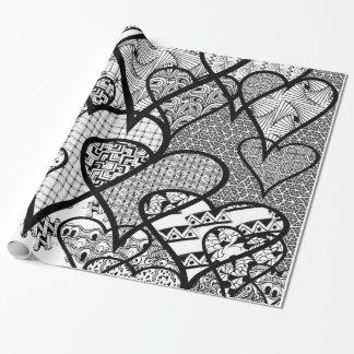 DIY Color It Adult Coloring Wrapping Gift Paper