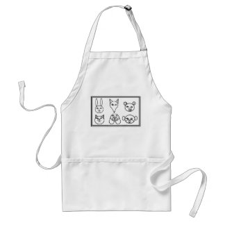 DIY Color Me Designs - Adult's Standard  Apron