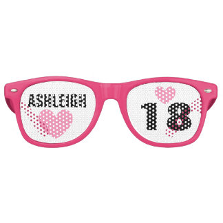 DIY Create Your Own 18th BIRTHDAY or ANY YEAR A62B Party Sunglasses