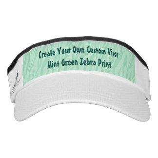 DIY Create Your Own Visor Mint Green ZEBRA R01