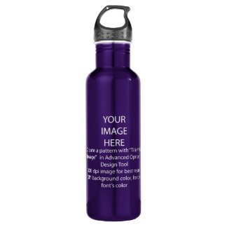 DIY / Customize this Electric Purple 710 Ml Water Bottle