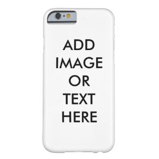 DIY Customize Your Own iPhone 6 Cover Barely There iPhone 6 Case