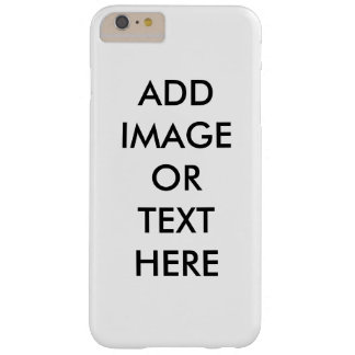 DIY Customize Your Own iPhone 6 Plus Cover Barely There iPhone 6 Plus Case