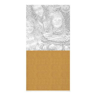 DIY Design It Yourself Gold Wedding Damask Picture Card