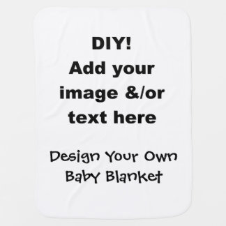DIY Design Your Own Baby Blanket
