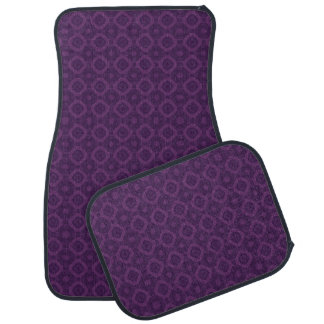 DIY Design Your Own Car Mats V86 PURPLE DIAMONDS Car Floor Carpet