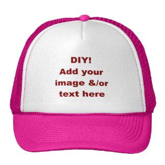 DIY Design Your Own Custom Gift H001BA Trucker Hat