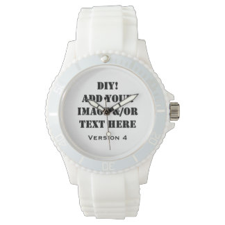 DIY Design Your Own Custom Gift Verson 4 Wrist Watch