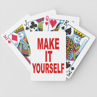 DIY Design Your Own Poker Party Poker Deck