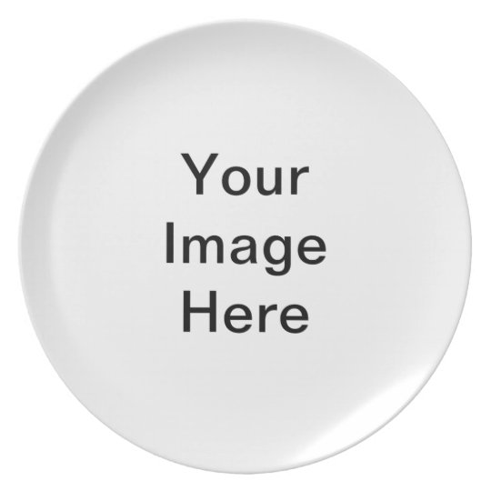 DIY Design Your Own Zazzle Gift Item Plate