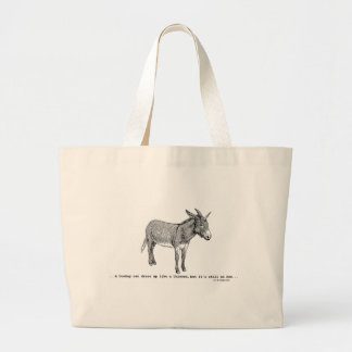 DIY DonkeyUnicorn ver2 Large Tote Bag