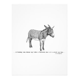 DIY DonkeyUnicorn ver2 Letterhead