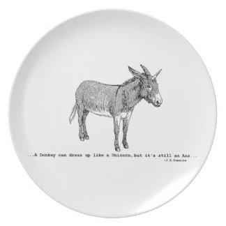 DIY DonkeyUnicorn ver2 Plate