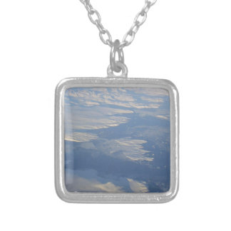DIY : Editable to add your text n image Silver Plated Necklace