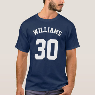 DIY font+color, Favorite Team Member+Number T-Shirt