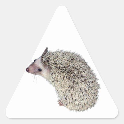 DIY Hedgehog left Triangle Stickers