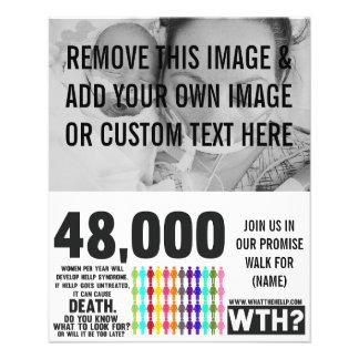 DIY HELLP Awareness Fliers Flyer
