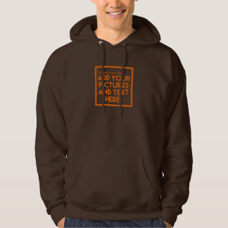 DIY Hooded Sweatshirt- Add pictures and text! Hoodie