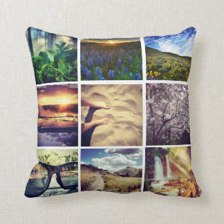 DIY Instagram Throw Pillow