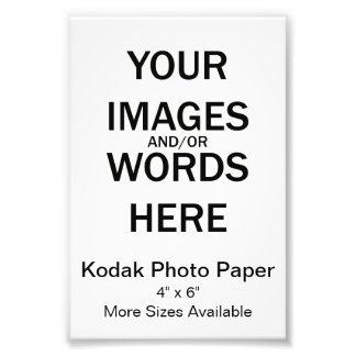 DIY - Kodak Photographic Paper Photo Print