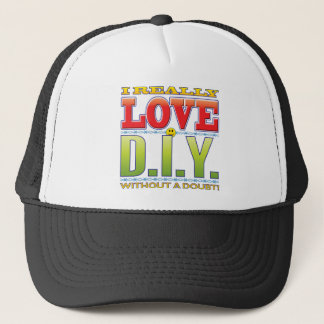 DIY Love Face Trucker Hat