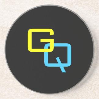 "DIY Monogram ~ Coaster 4.25"""