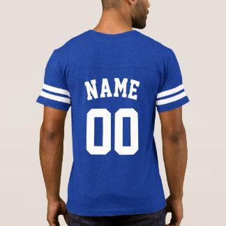 DIY Name+Number Football Team T-Shirt