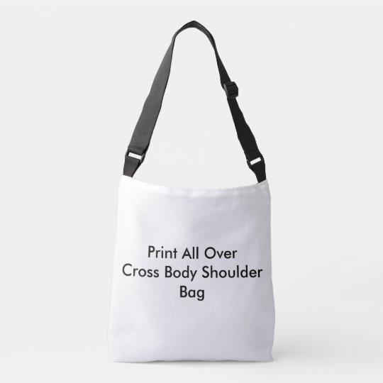 DIY Print All Over Cross Body Bag